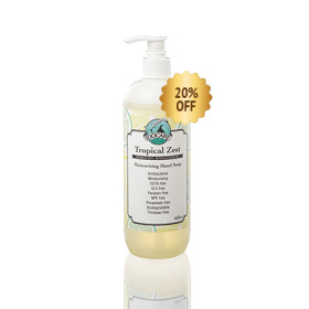 Tropical Zest Moisturising Hand Soap